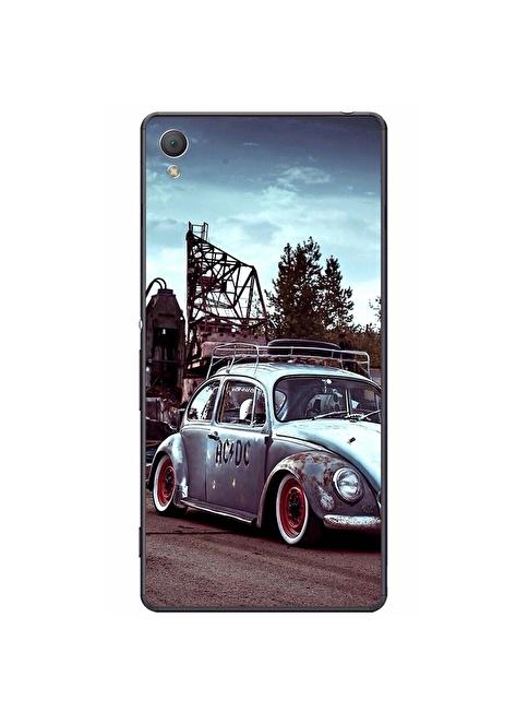 People's Cover Xperia Z4 Kabartmalı Telefon Kılıfı Renkli